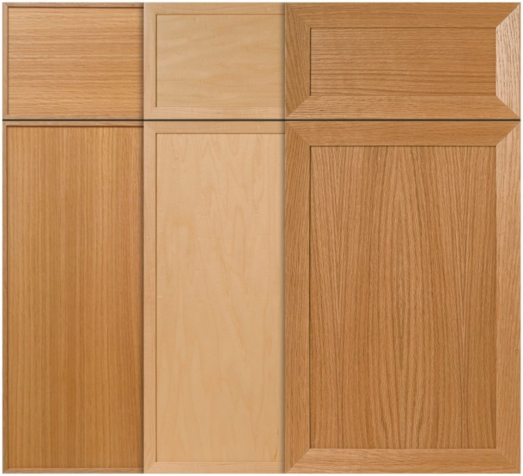 Dimensional detail for slab cabinet doors | For ...