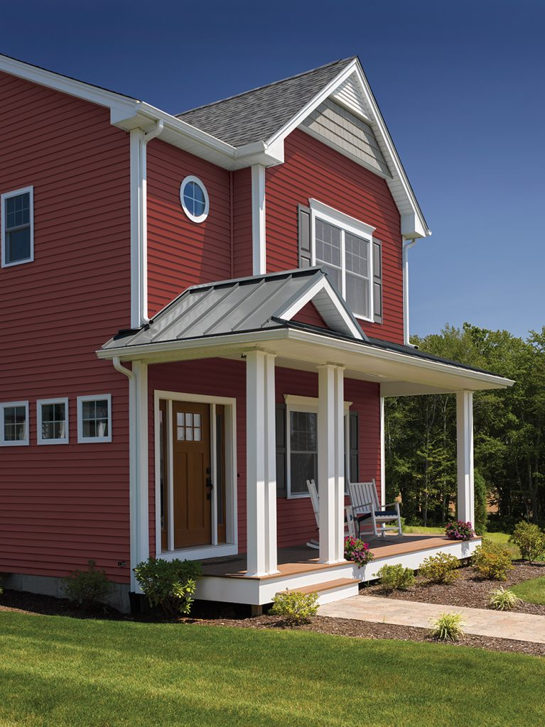 Color Additions Across Vinyl Siding Lines Remodeling