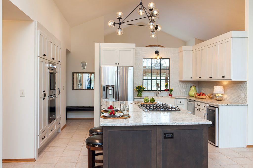 'Floating' Kitchen Gets Functional Overhaul