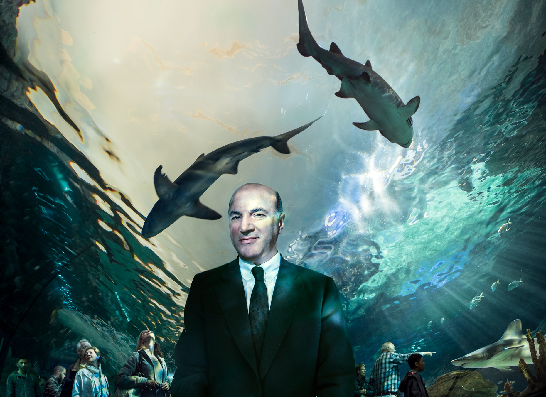 Kerry Shaw gets in with the city's biggest Shark Kevin O'Leary