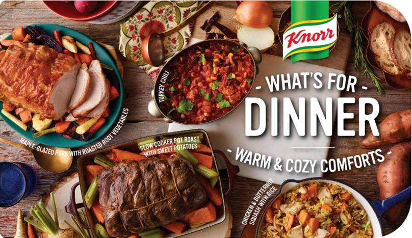 Knorr What's For Dinner In Store Display, the latest from Reena Newman