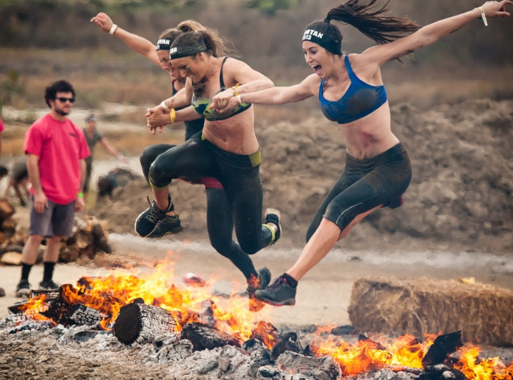 girls Spartan race