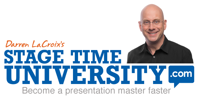 Darren LaCroix's Stage Time University