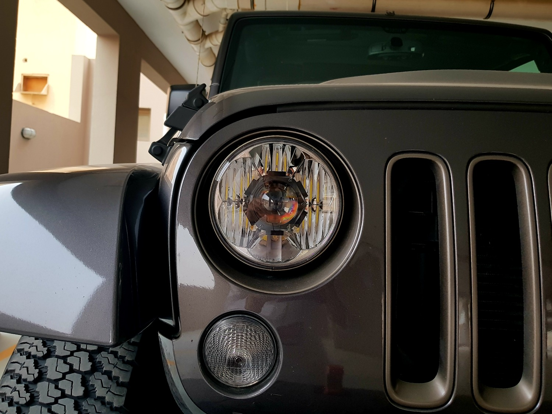 Kc Hilites Gravity Led Pro 7 Jeep Jk Headlight Pair Pack System Wiring Harness I