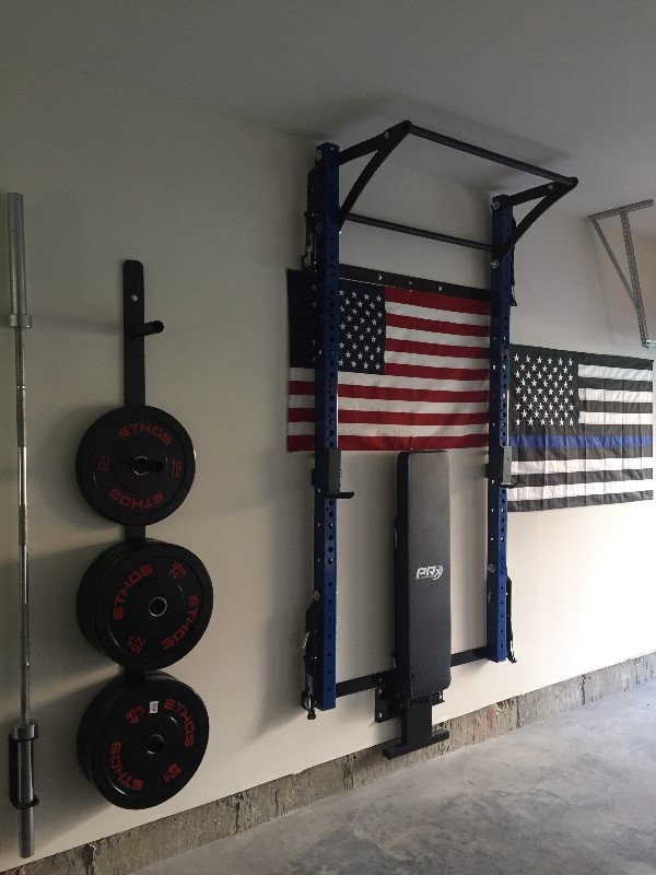 Profile pro folding squat rack with kipping bar prx for Prx performance