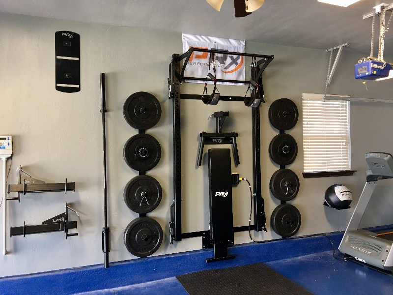 Men 39 s profile pro package complete home gym prx for Prx performance