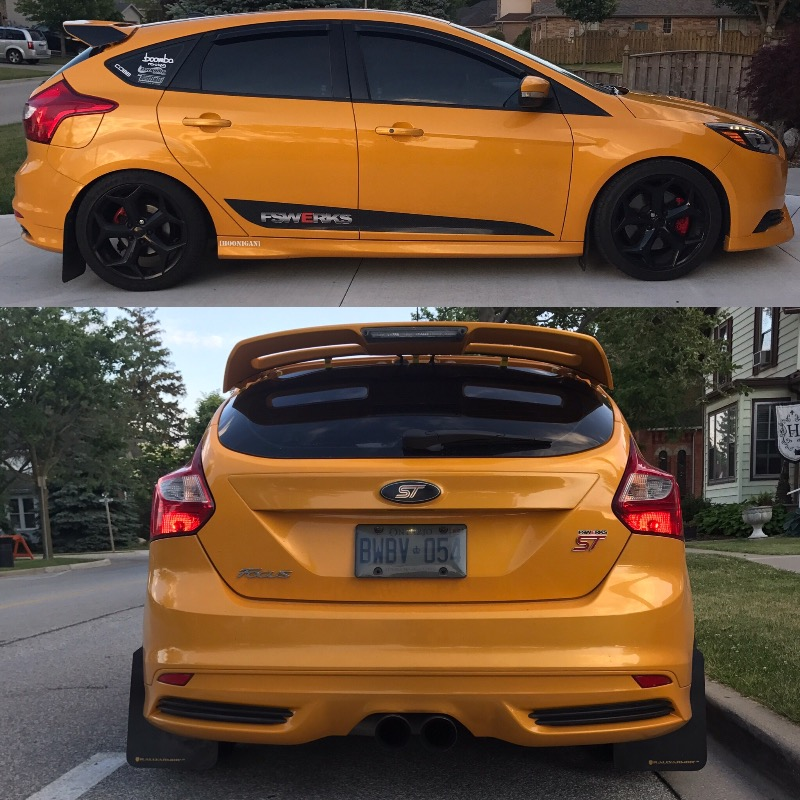2015 Ford Focus St Suspension: FSWERKS 25mm Rear Adjustable Sway Bar
