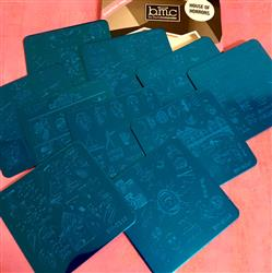 Michelle H. verified customer review of House of Horrors Collection (S241 to S250) - Set of 10 Nail Stamping Plates