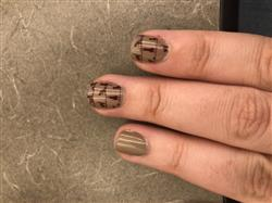 Cassidy T. verified customer review of Mythos: Earthy Creative Art Stamping Polish Collection