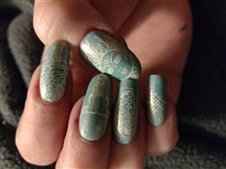 Rachel M. verified customer review of Tattoo Collaboration: Katja G. (BM-XL410) - Single Plate