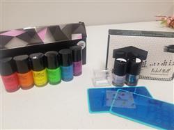 Christine M. verified customer review of Rebel Yell: Nail Stamping Starter Kit - Plates, Polishes, Scraper, & Stamper