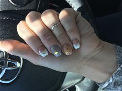 Crystal W. verified customer review of Limited Edition: @NinaNailedIt Gold Nail Stickers - Set of 4 Sheets
