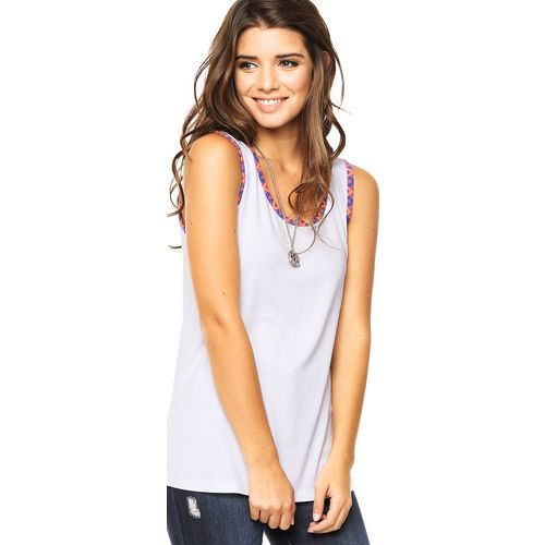 Musculosa Blanca Ted Bodin Ted Bodin