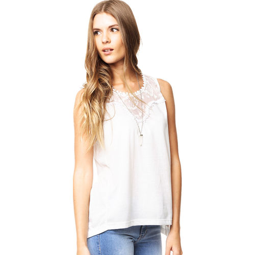 Musculosa Blanca Try Me Antonia Try Me