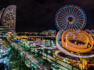 Nightlife in Yokohama