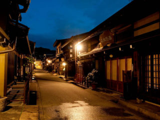 Takayama at night