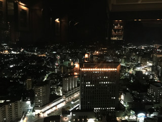 Kanazawa from top of the Hotel Nikko