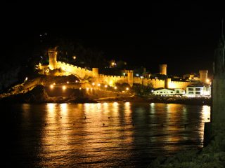 Tossa de Mar Night