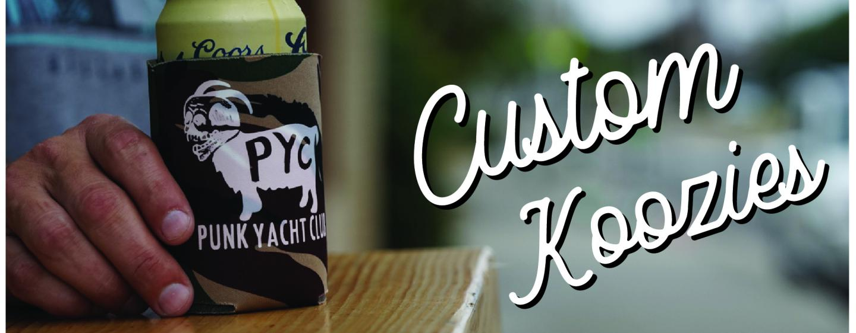 Team Phun Custom Shop Custom Koozies Can Coolers