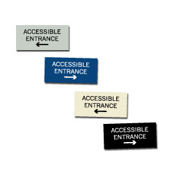 ACCESSIBLE ENTRANCE SIGNS