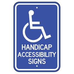 Handicap Accessibility Signs