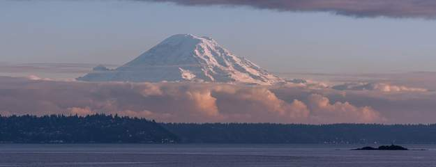 Mt. Rainier form Bainbridge Islandnd