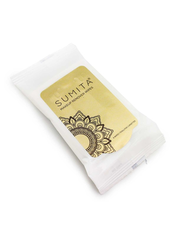 Sumita Cosmetics Makeup Remover Wipes – 8 Pack