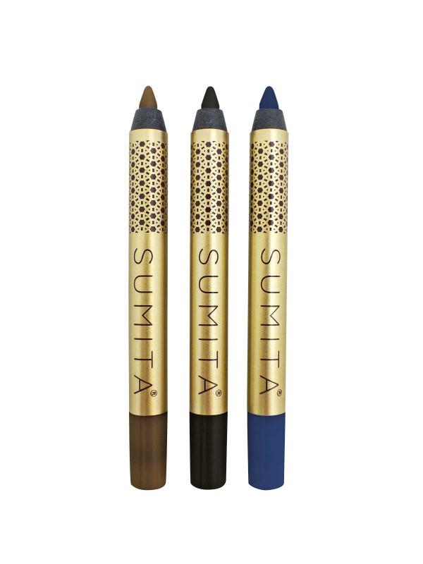 Sumita Cosmetics Mini Eyeliner Pencils – Darks