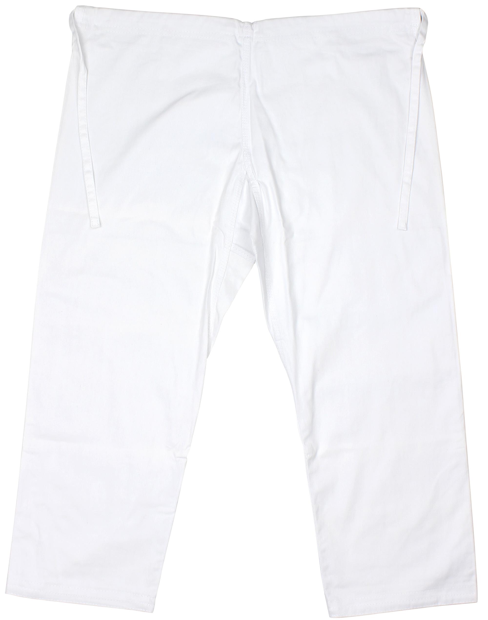 White Bad Boy Mens Standard Jiu Jitsu BJJ Single Weave Gi