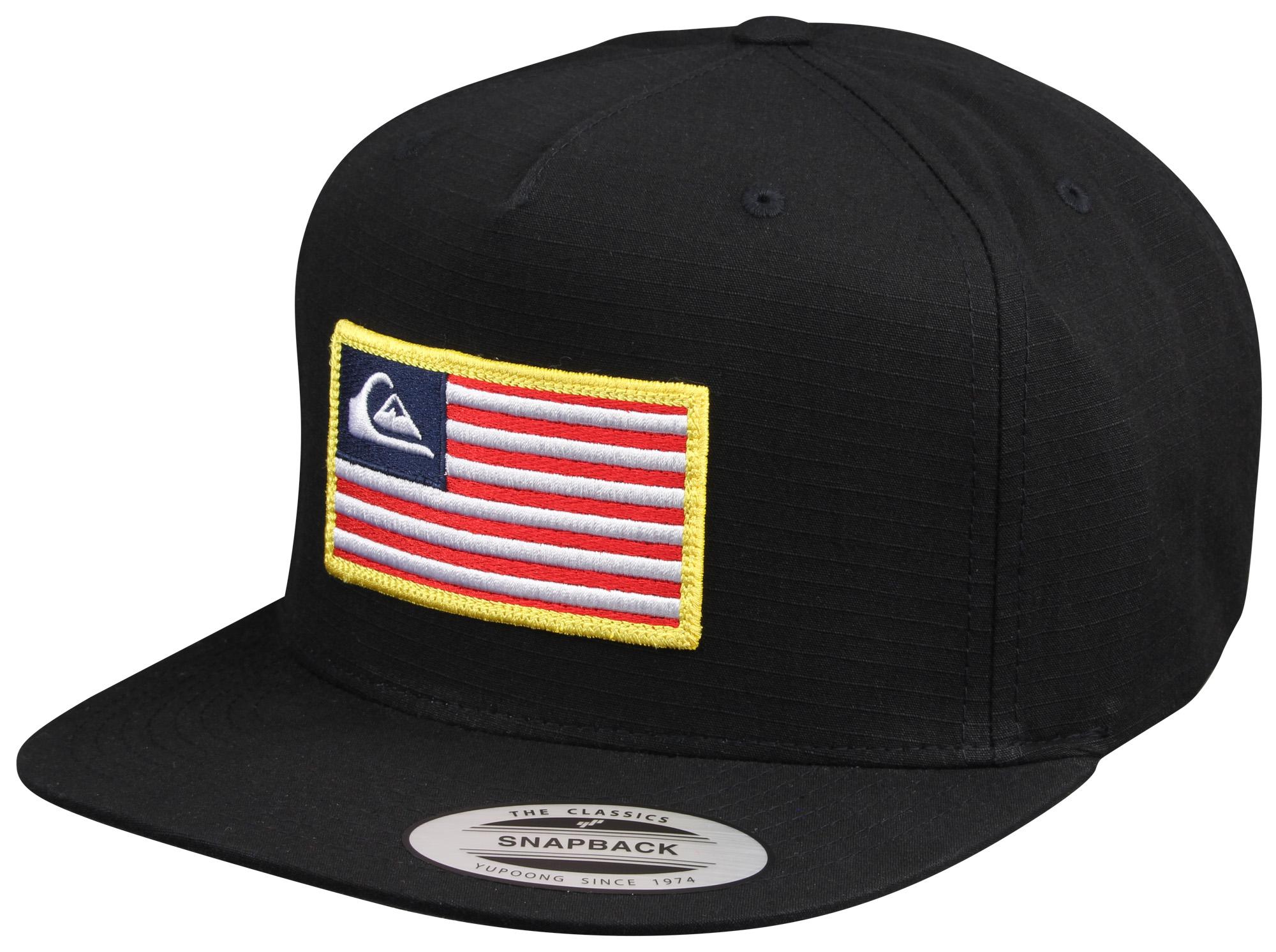 Quiksilver Tonal Pride Snapback Hat (Black)
