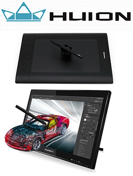 Huion Graphics Tablets & Pen Displays