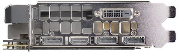 Display Ports in EVGA GeForce GTX 1070