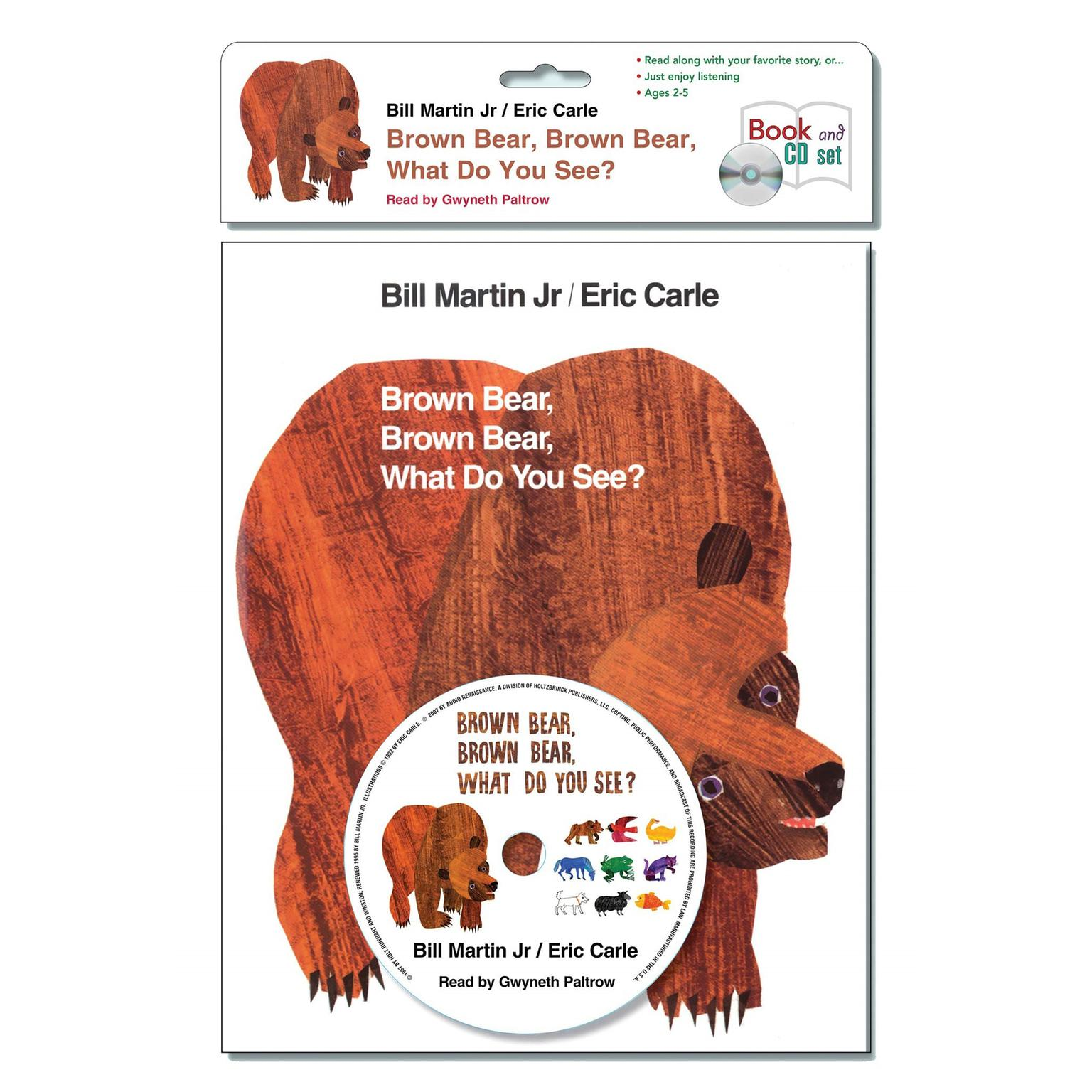 Brown bear brown bear what do you see book cover