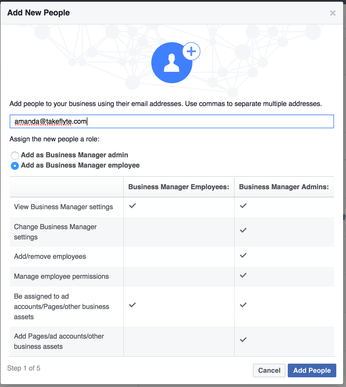 how do i set up facebook ad manager accounts for clients on the left hand side you will see where you can add people pages ad accounts etc