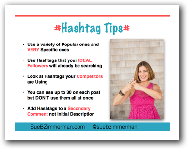 Instagram Hashtag Tips