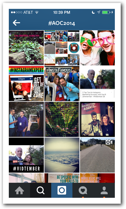 Instagram #aoc2014