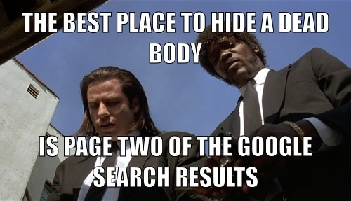 The Best Place to Hide a Dead Body...