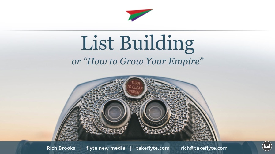 List Building: How to Grow Your Empire