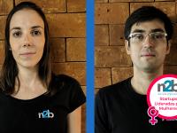 Luísa Cusnir e Cesar Terrin são os fundadores da N2B Brasil