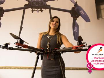 Futuriste trabalha para melhorar o aproveitamento de drones