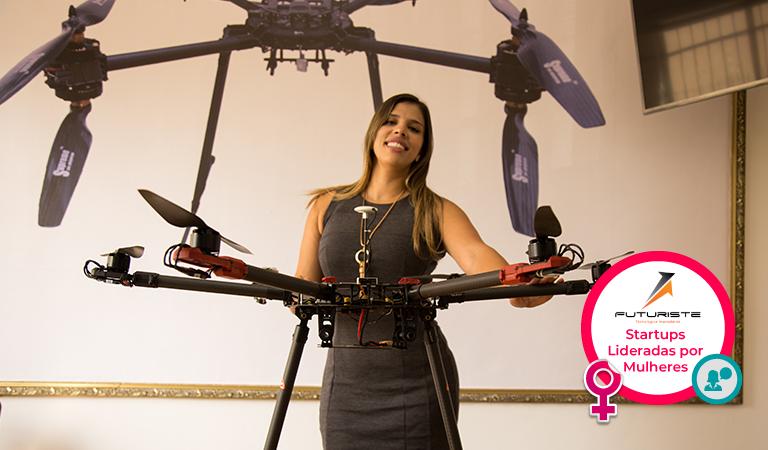 Proposta da Futuriste é aproveitar o melhor dos drones