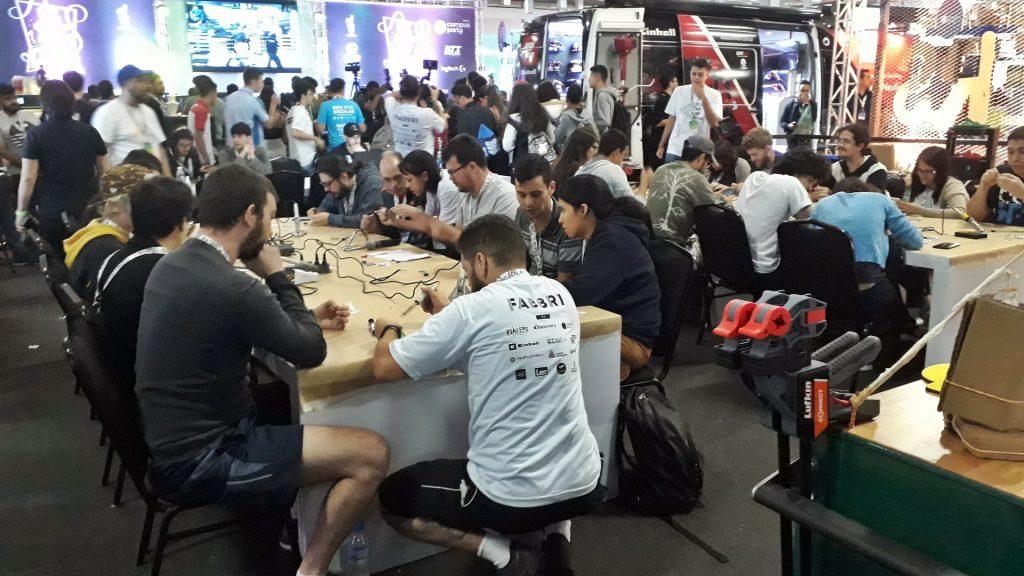 Hackathon na décima segunda edição da Campus Party