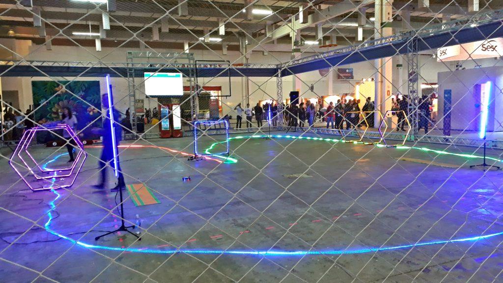 Décima segunda edição da Campus Party traz pista de competição de drones