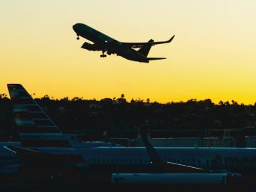 tecnologia aeroporto