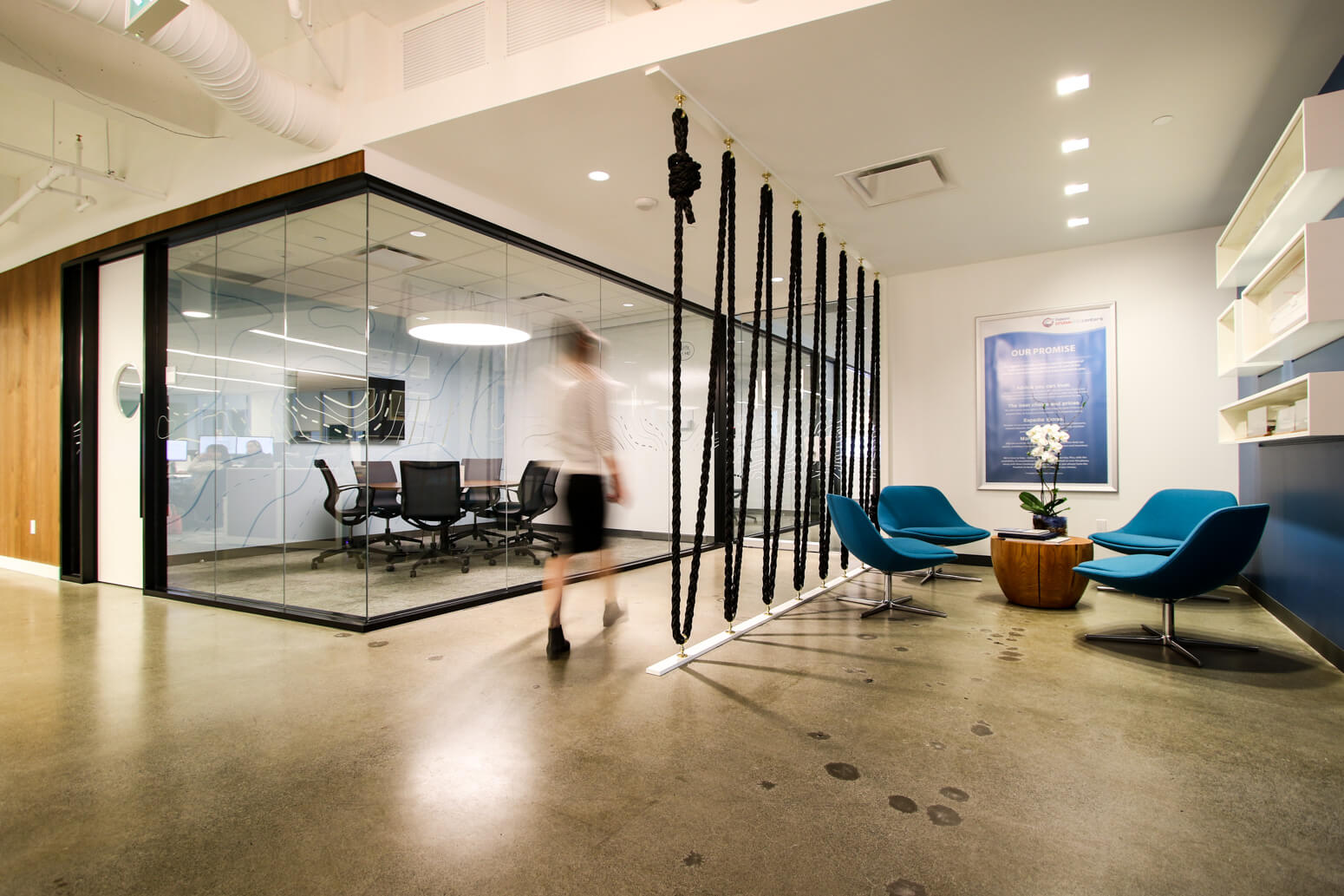 Every Workstation Is Modular And Can Be Converted Into Standing Position When The Mood Strikes Breakout Workstations Meeting Spaces Are Spread Around