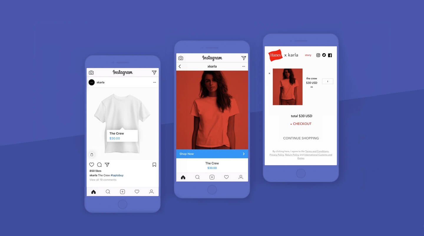 tap to shop  shopify stores can now sell on instagram