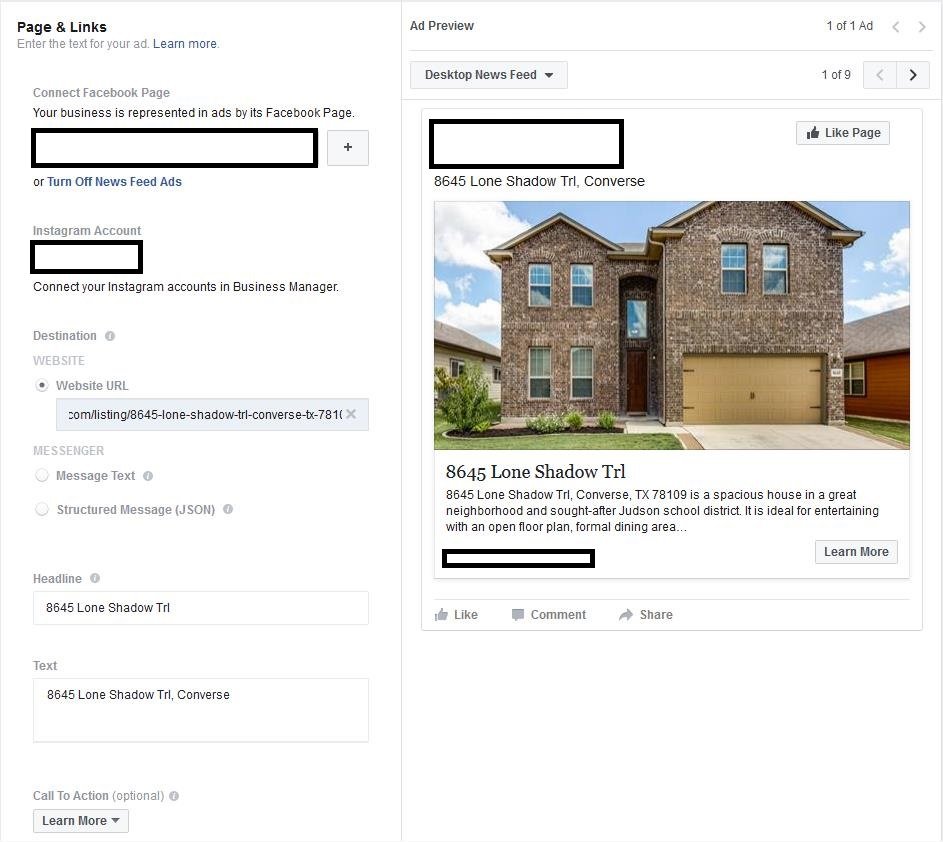 The Investment Agents Facebook Open Graph example