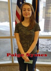 Paige Symes_Humanitarian_Freshman