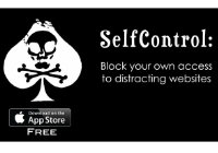 self control app helps with self-directed learning