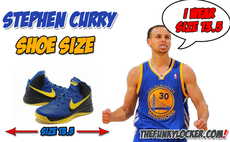 Stephen Curry Shoe Size